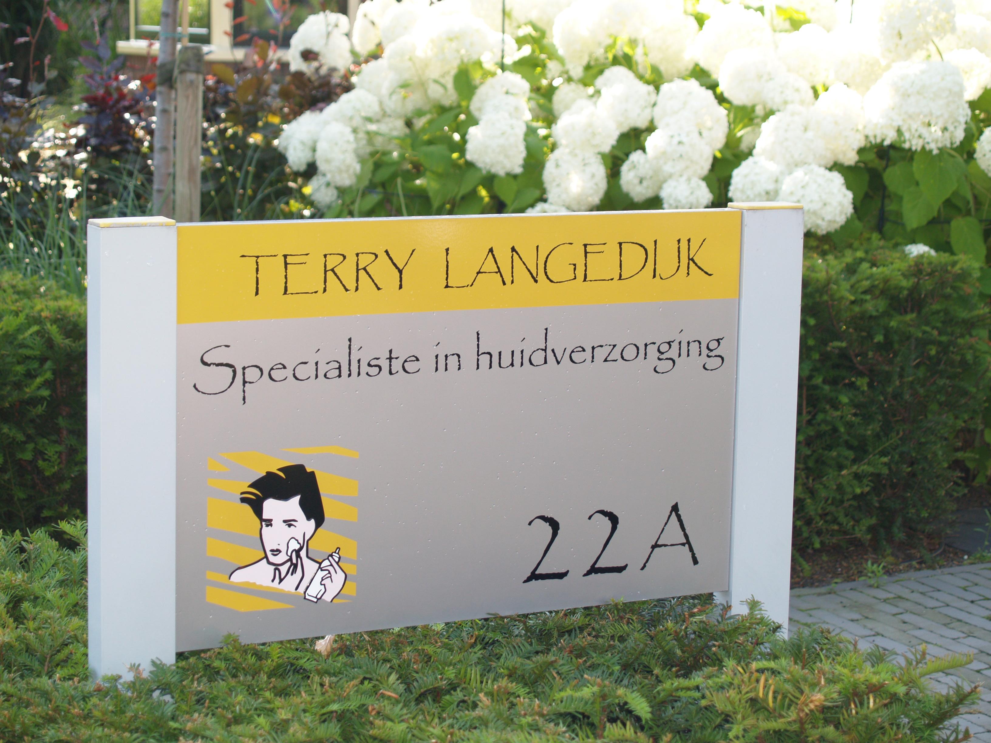 Terry Langedijk huidverzorging